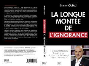 Couverture La longue montée de l'ignorance Casali